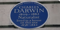 Charles Darwin Blue Plaque London