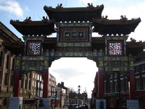 Chinatown in Liverpool