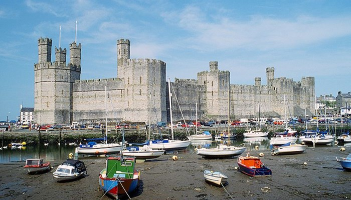 Famous landmarks of Wales