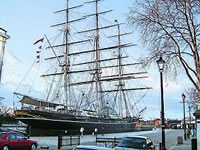 Historic Ship The Cutty Sark