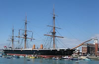Historic Ship HMS Warrior