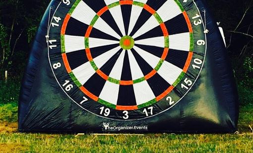 Football and darts: the best mashup ever?