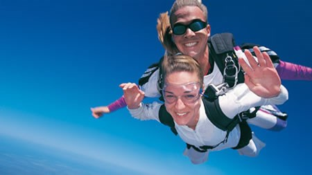 Tandem skydive with Red Letter Days