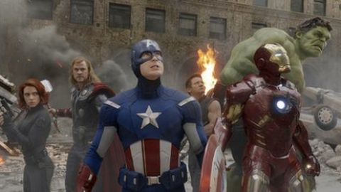 Avengers tops UK box office