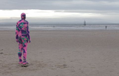 Crosby beach iron men get new kits