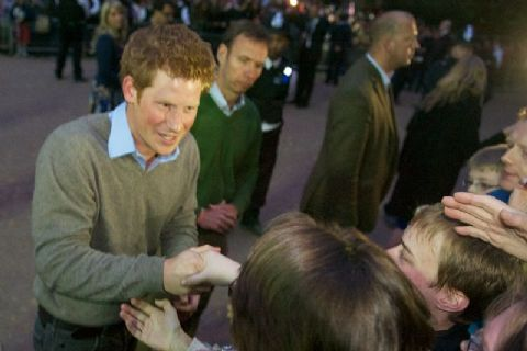 Diamond Jubilee: Prince Harry in Belize