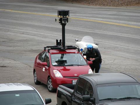Google Street View delayed by objectors