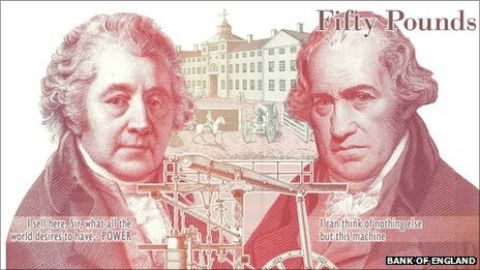 New British £50 note by November