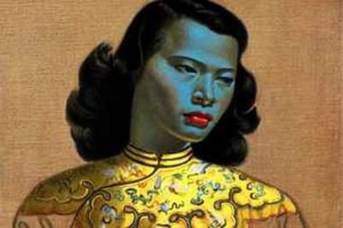 Original Chinese Girl portrait goes to auction
