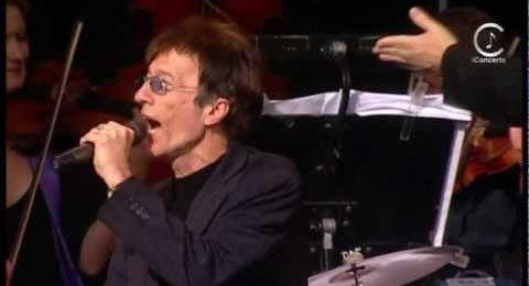 Robin Gibb vows to record new material