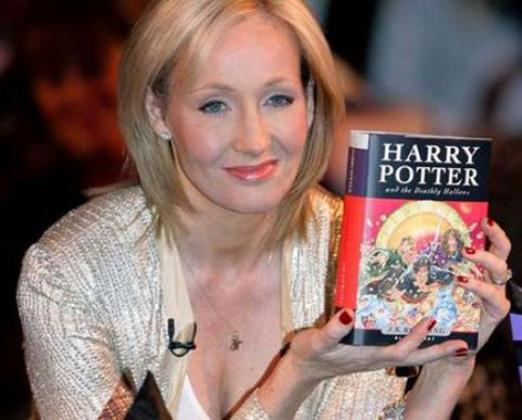 Rowling on her fave wizard