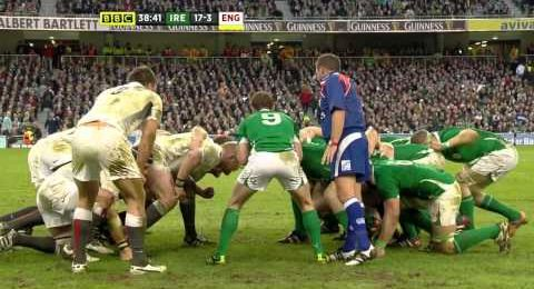 Six Nations - massive clash in Dublin
