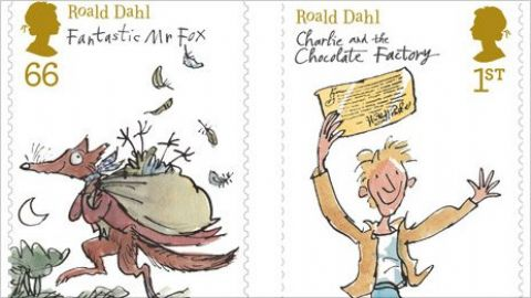 Stamps pay tribute to Dahl characters