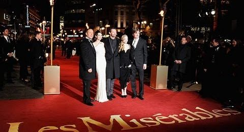 Stars turn out for Les Miserables premiere
