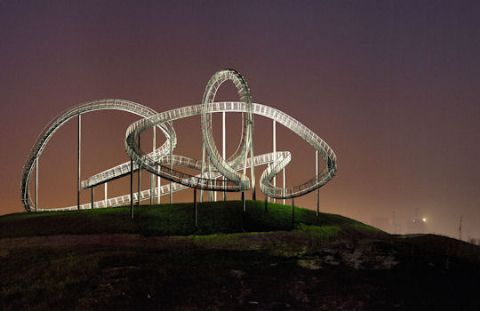 Walkable rollercoaster in Germany